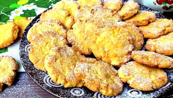 Яблочное печенье - Видео-рецепт