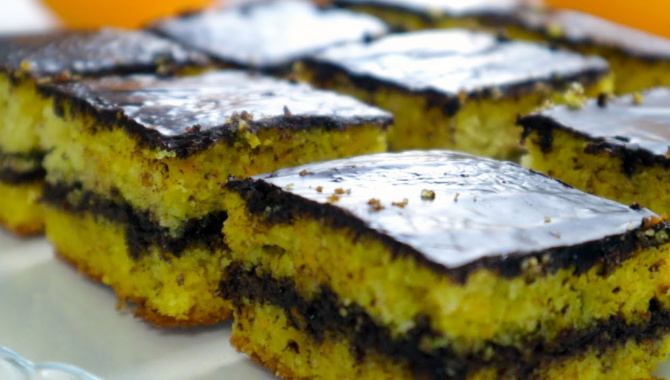Тыквенный Пирог с шоколадом - Видео-рецепт