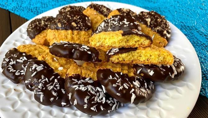 Лучшее Песочное печенье в шоколаде - Видео-рецепт
