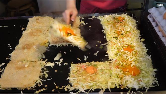 Уличная еда в Осака (Видео)