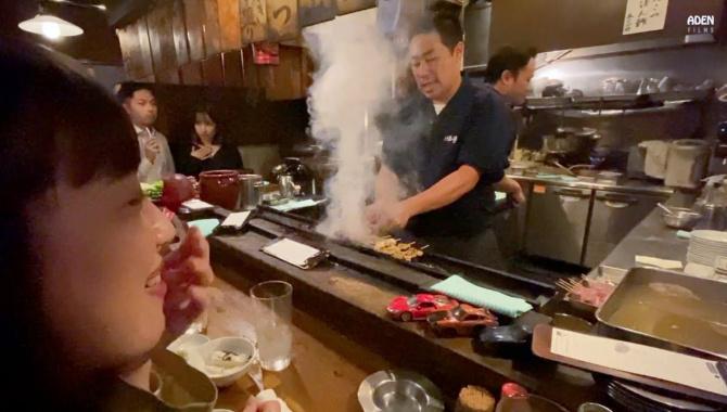 Бар Идзакая в Токио (Япония) - Видео