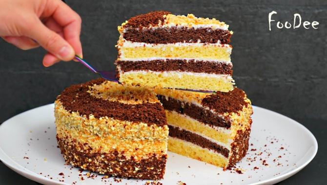 ОЧЕНЬ вкусный домашний торт из простых продуктов! - Видео-рецепт