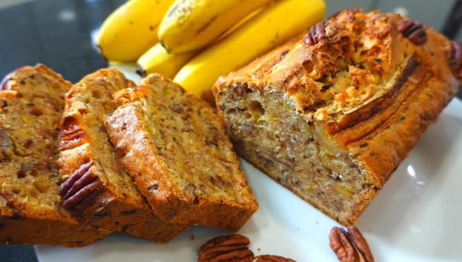 Обалденный банановый хлеб - Видео-рецепт