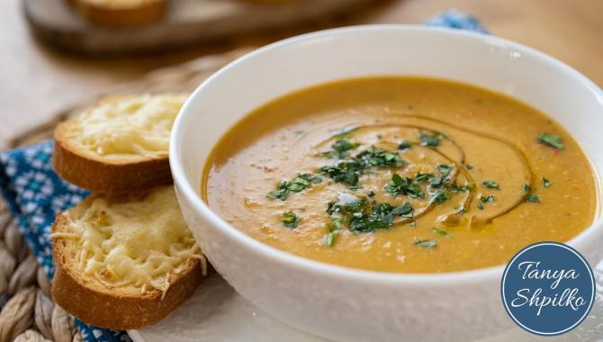 Быстрый, Полезный, Вкусный Суп-Пюре из Чечевицы за 30 минут - Видео-рецепт