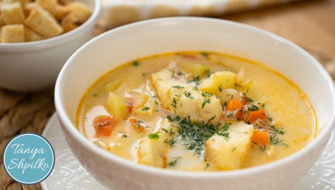 Вкуснейший Рыбный Суп в Норвежском Стиле - Видео-рецепт