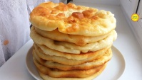 Лепешки на сковороде - Видео-рецепт