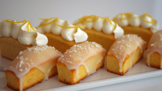 Мини кексы с лимоном и кокосом - Видео-рецепт