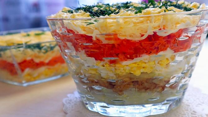 Салат Воздушный с морковью - Видео-рецепт