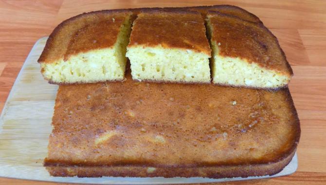 Манник на кефире с сырным вкусом. Видео рецепт
