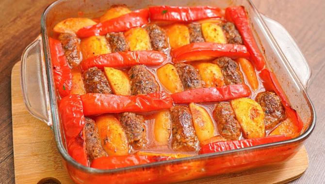 Мясо с картошкой - Видео-рецепт