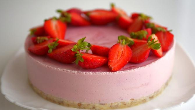 Торт йогуртовой Мраморный без выпекания - Видео-рецепт