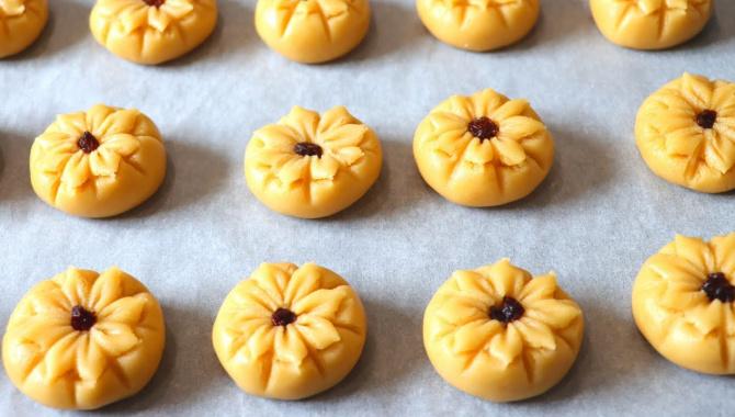 Красивое печенье к чаю - Видео-рецепт