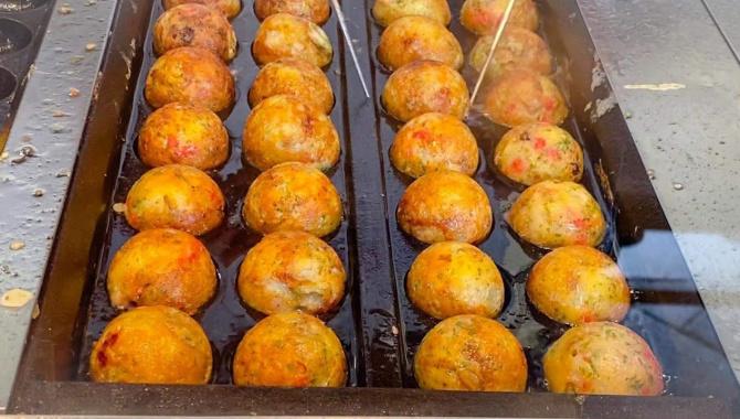 Японская еда - Приготовление такояки (Видео)