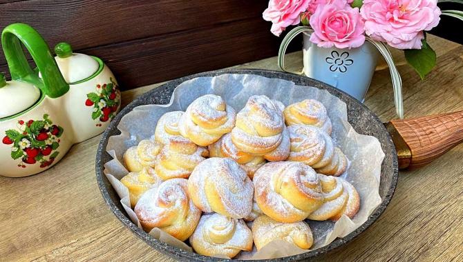 Творожные булочки на сковороде! - Видео-рецепт
