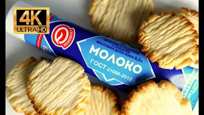 Печенье из сгущенки - Видео-рецепт