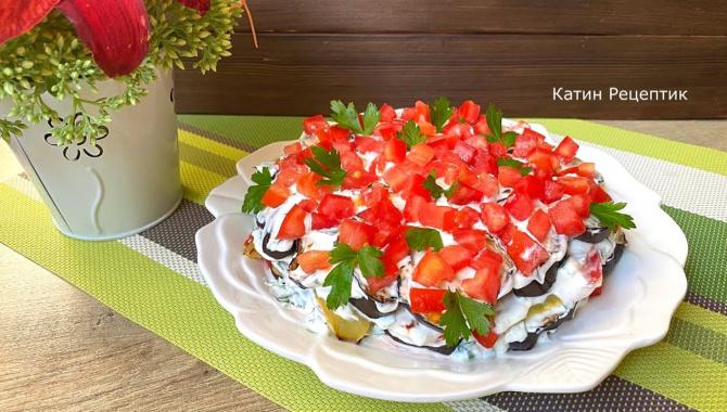 Овощной салат из сезонных овощей - Видео-рецепт