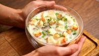 Сырный суп – очень вкусный и сытный - Видео-рецепт