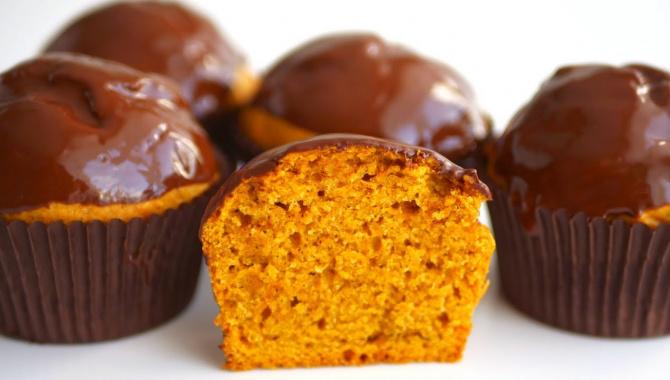Оранжевые маффины - Видео-рецепт